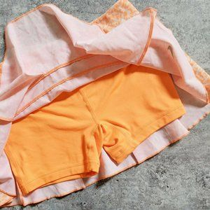 Nike Skirts - Nike Orange Dri-Fit Tennis Skirt Skort XS